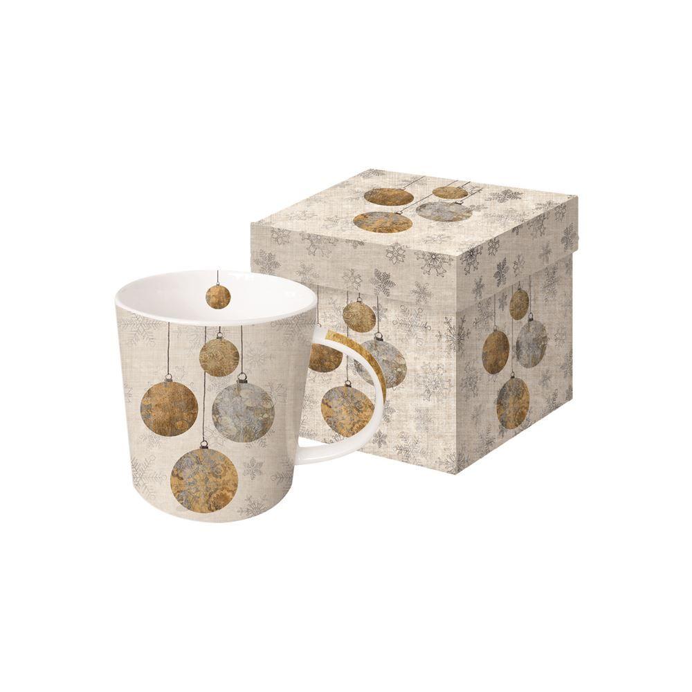 Holiday Ornaments Boxed Mug