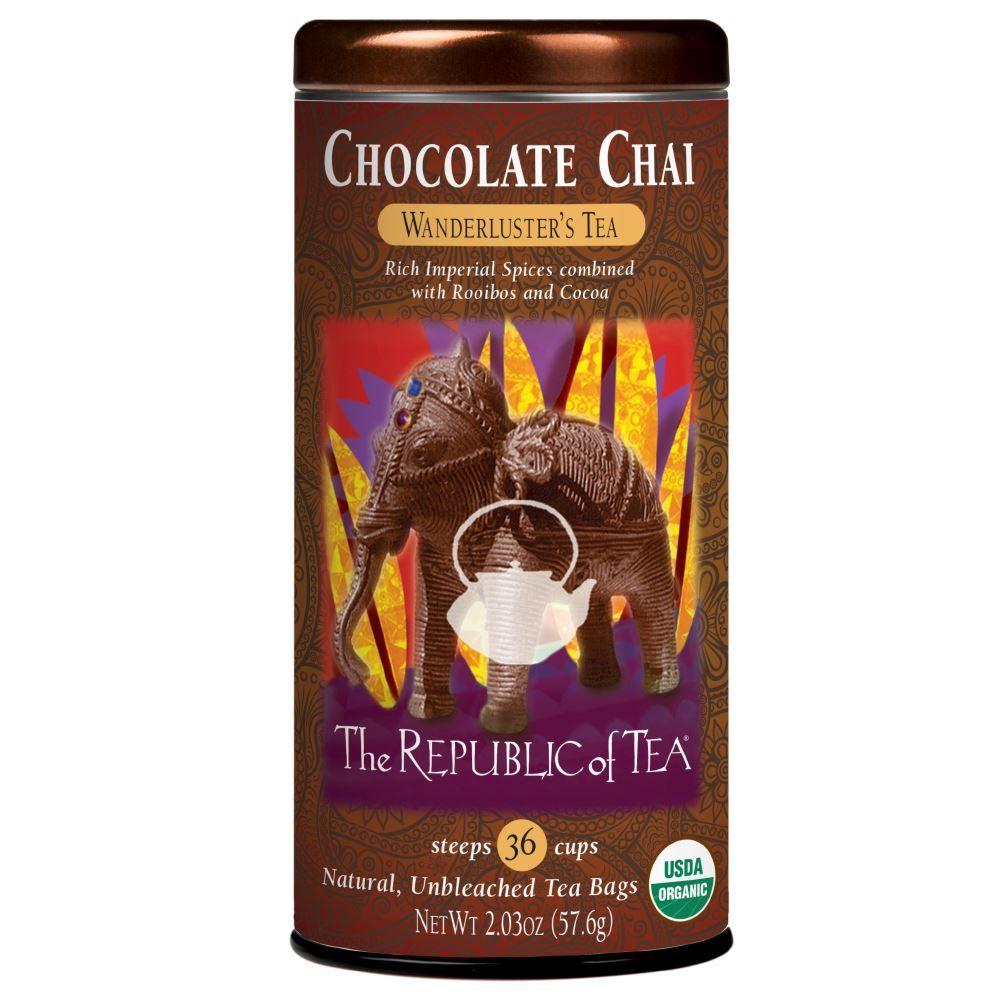 Chocolate Chai Tea Bags