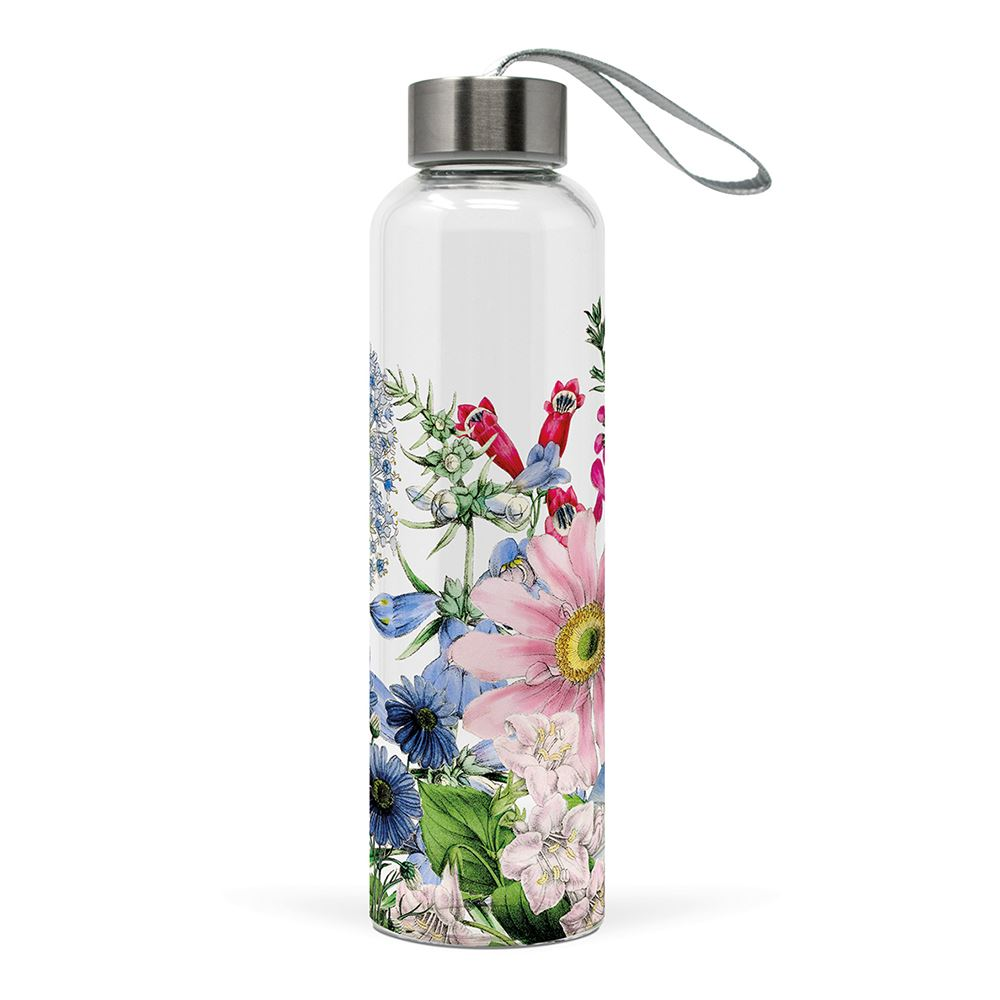 Floriculture Glass Water Bottle