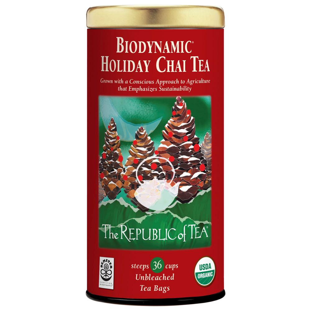 Biodynamic® Holiday Chai Red Tea Bags