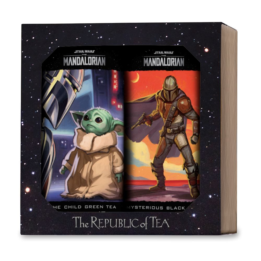 The Mandalorian Limited Edition Two Tin Gift Set - Mysterious Black & The Child Green Teas