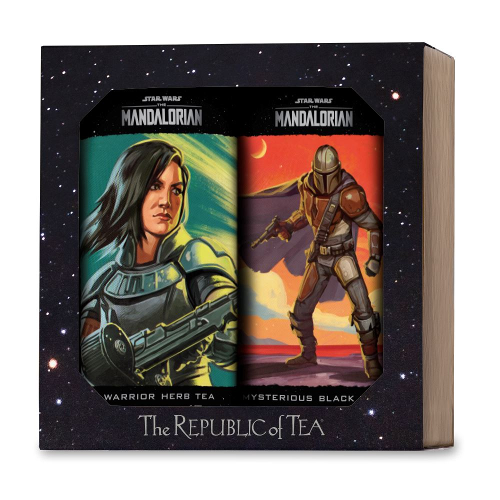 The Mandalorian Limited Edition Two Tin Gift Set - Mysterious Black & Warrior Herb Teas