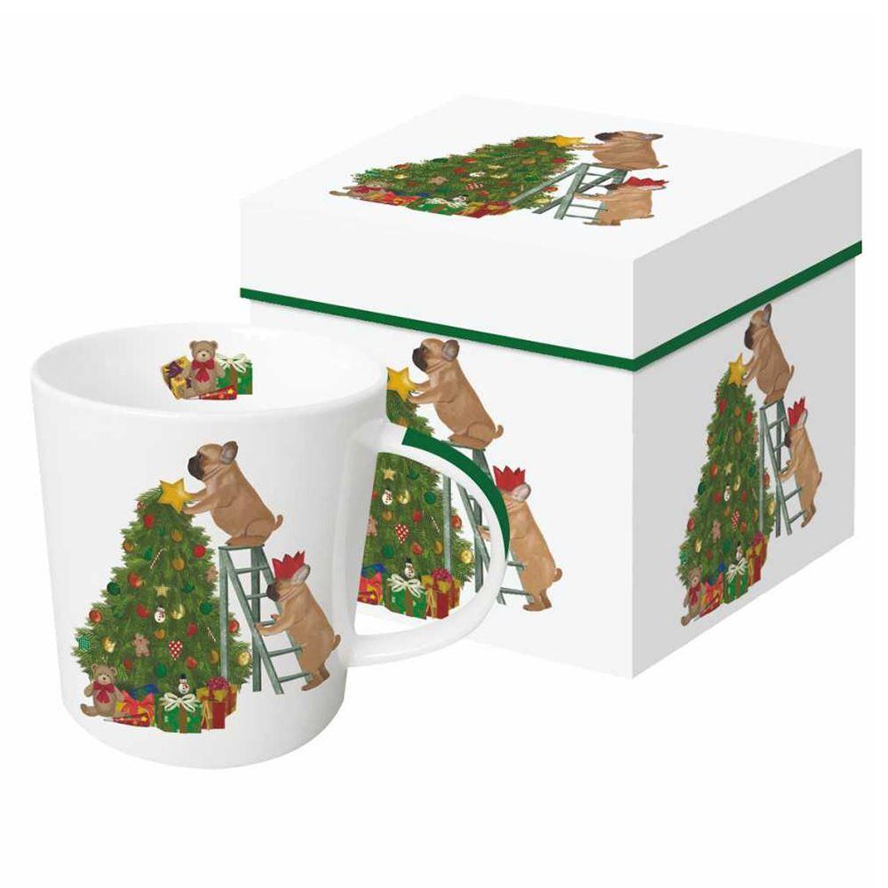 Henry & Holly Boxed Mug