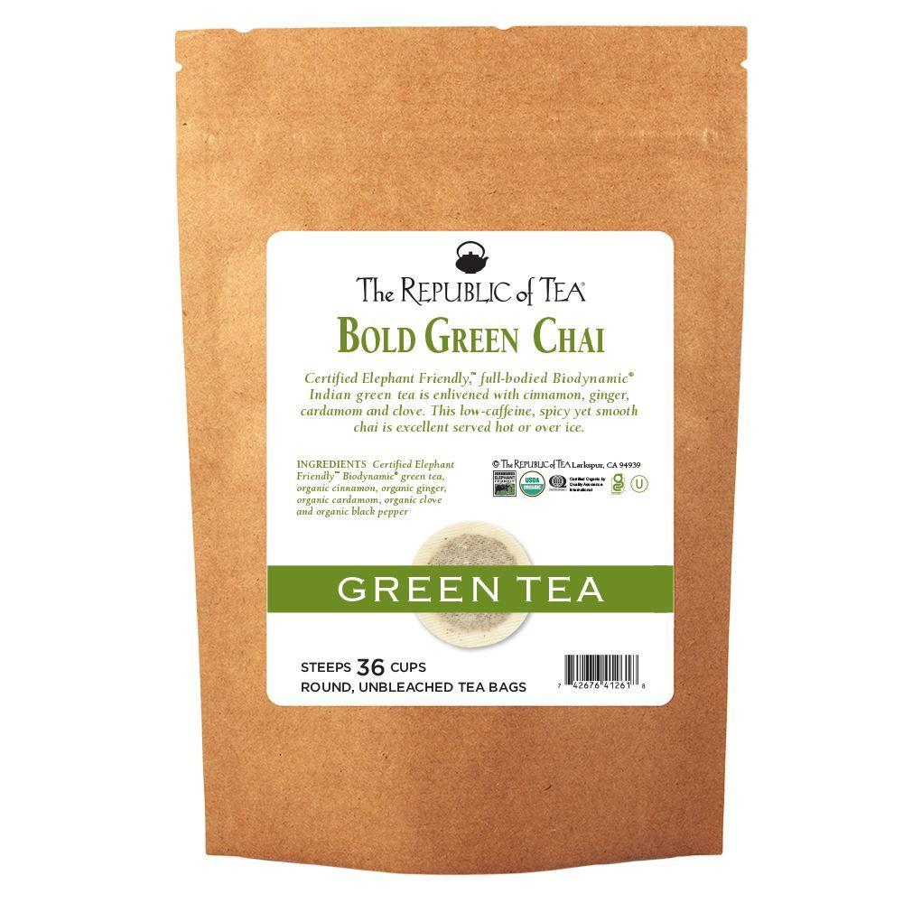 Bold Green Chai Tea Bags