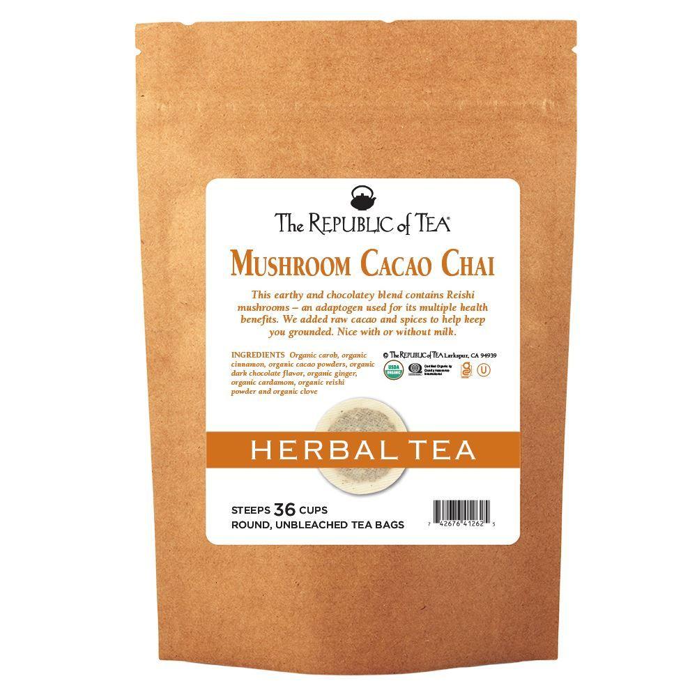 Mushroom Cacao Chai Tea Bags