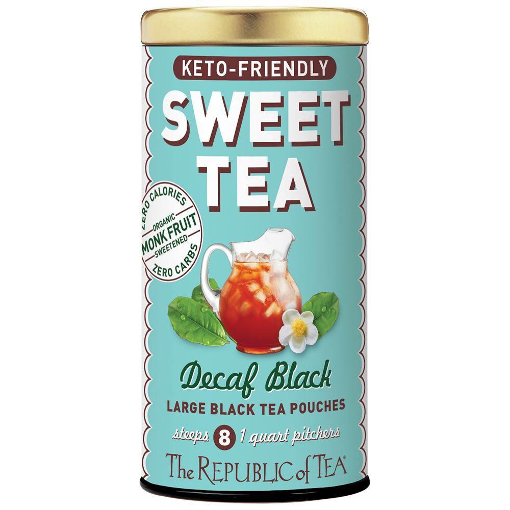 Keto-Friendly Sweet Decaf Black Iced Tea