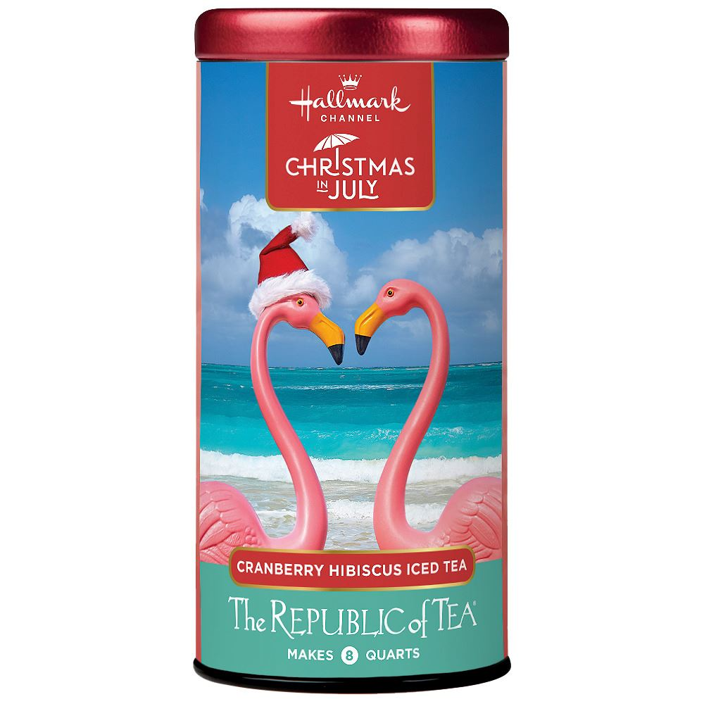 Hallmark Channel Christmas in July Cranberry Hibiscus Iced Tea