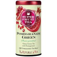 Organic Pomegranate Green Superfruit Tea Bags