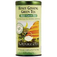 Honey Ginseng Green Tea Bags