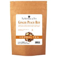 Ginger Peach Red Tea Full-Leaf