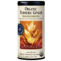 Organic Turmeric Ginger Green Tea Bags