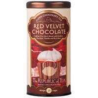 Red Velvet Chocolate Herbal Tea Bags