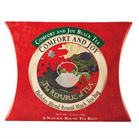 Comfort and Joy Black Tea Sampler Pillow