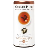 Coconut Pu-erh Full-Leaf Loose Black Tea
