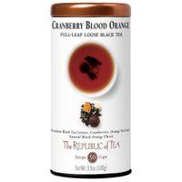 Cranberry Blood Orange Full-Leaf Loose Black Tea