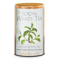 White Tea Display Tin