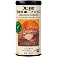 Biodynamic® Organic Turmeric Cinnamon Tea Bags