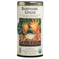 Biodynamic® Organic Ginger Tea Bags