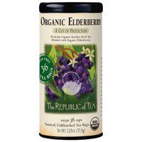 Organic Elderberry Red Tea Bags