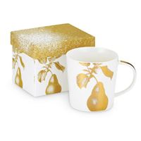 Golden Pear Boxed Mug