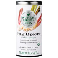 Organic Thai Ginger SuperHerb Tea Bags