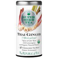 Organic Thai Ginger SuperHerb Tea Bags