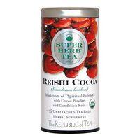 Organic Reishi Cocoa SuperHerb® Tea Bags
