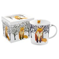 Winter Fox Boxed Mug