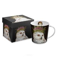 Royal Owl Boxed Mug