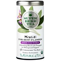 Organic Sage SuperHerb Tea For Hot Flashes