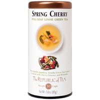 Spring Cherry Full Leaf Green Tea