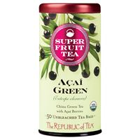 Organic Acai Green Superfruit Tea Bags