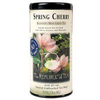 Spring Cherry Green Tea