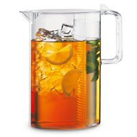 Plastic Iced Tea Brew Pitcher with Clear Lid