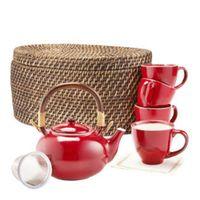 Red Blaze Teapot