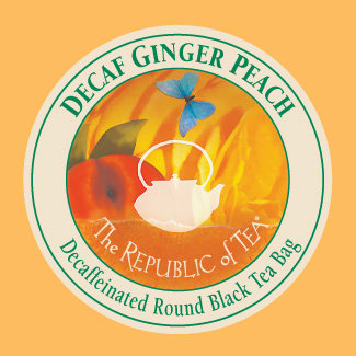 Ginger Peach Decaf Single Overwrap
