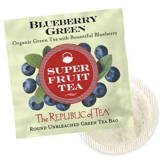 Blueberry Superfruit Single Overwrap   The Republic of Tea