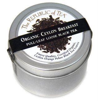 Organic USDA Ceylon Breakfast full leaf tea