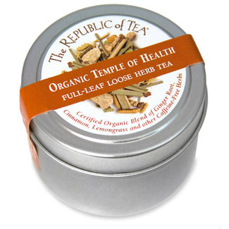 Organic USDA Temple of Health full leaf tea