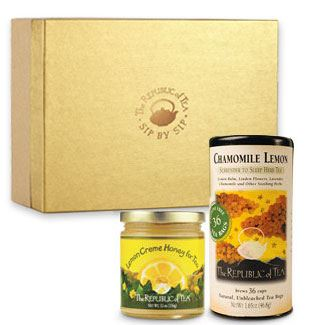 Tea & honey gift