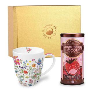 Custom Tea and Mug Gift