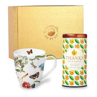 custom mug and gift tea set the republic of tea