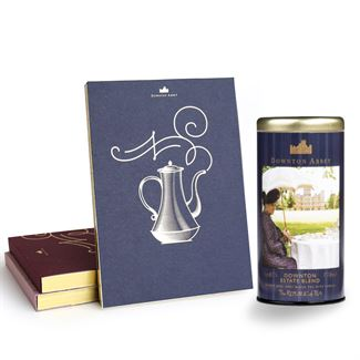 Downton Abbey® Custom Tea & Notepad Gift