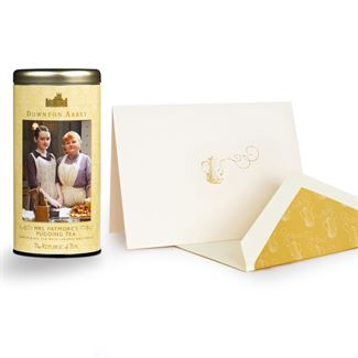 Downton Abbey® Custom Tea & Card Set Gift