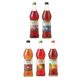 Glass Bottled Iced Tea Sampler Case