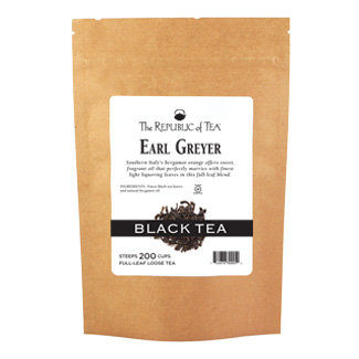Earl Greyer Black Full-Leaf
