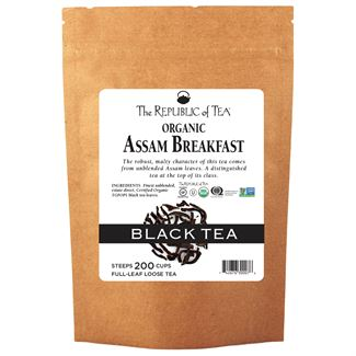 Organic Assam Breakfast Black Full-Leaf Tea