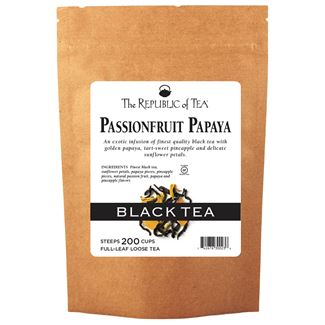 PassionFruit Papaya Black Full-Leaf