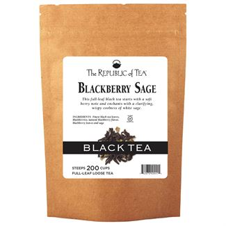 Blackberry Sage Black Full-Leaf