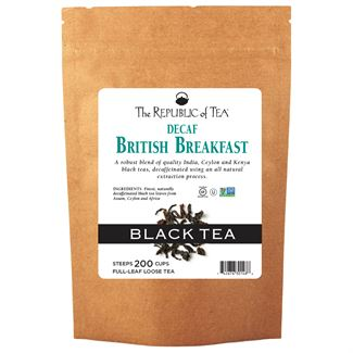 Decaf British Breakfast Black Full-Leaf